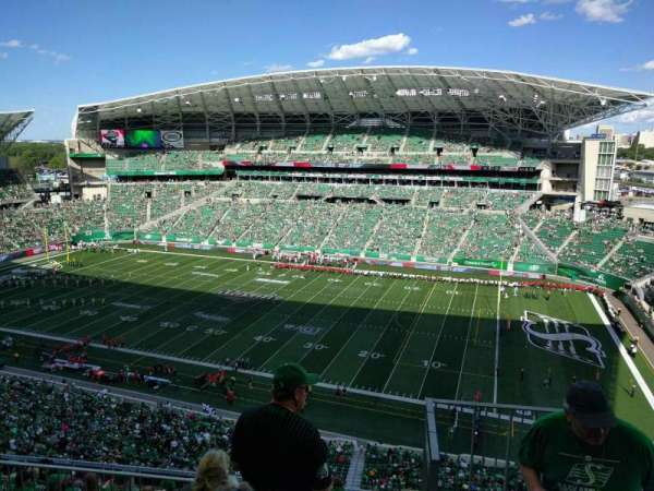 Mosaic Stadium, section: 611, row: 16, seat: 1