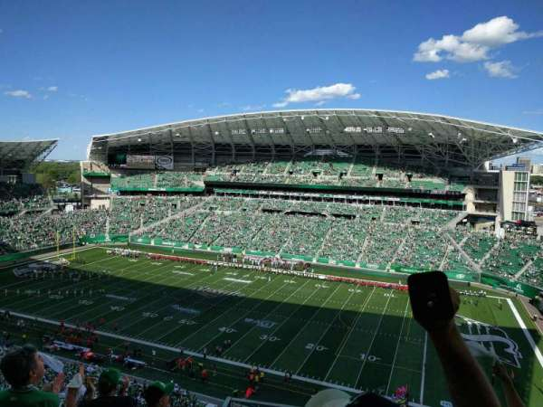 Mosaic Stadium, section: 610, row: 17, seat: 7