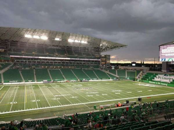 Mosaic Stadium, section: 319, row: 18, seat: 11