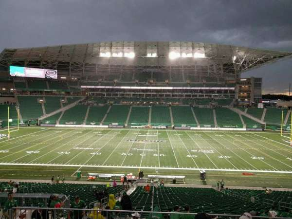 Mosaic Stadium, section: 314, row: 9, seat: 5
