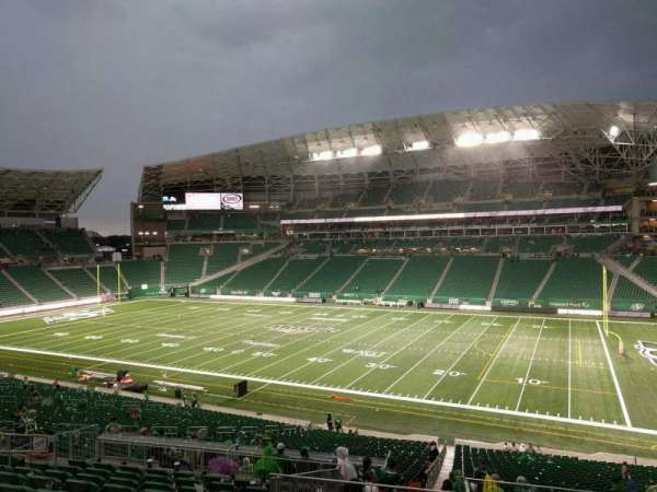 Mosaic Stadium, section: 309, row: 11, seat: 5