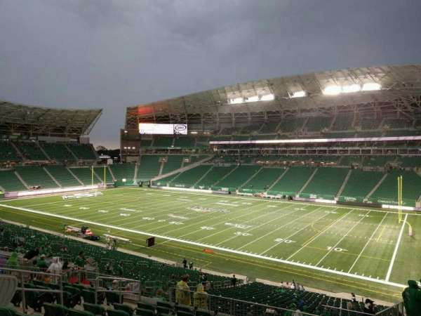 Mosaic Stadium, section: 308, row: 10, seat: 7