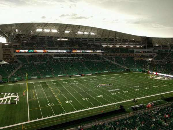 Mosaic Stadium, section: 542, row: 1, seat: 23