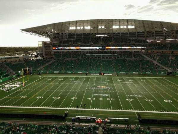 Mosaic Stadium, section: 639, row: 8, seat: 1