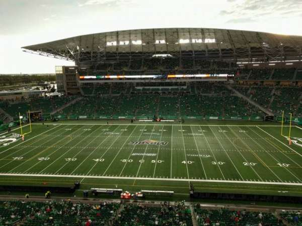 Mosaic Stadium, section: 538, row: 10, seat: 3