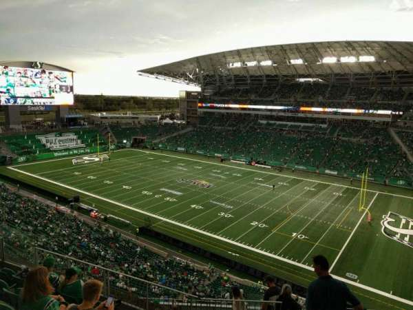 Mosaic Stadium, section: 533, row: 12, seat: 4
