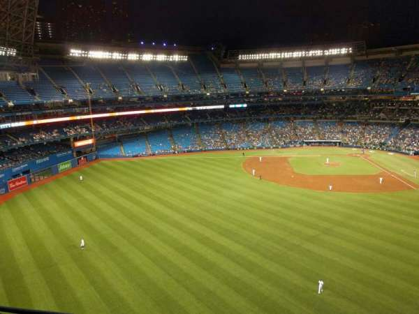 Rogers Centre, section: 543r, row: 3, seat: 6