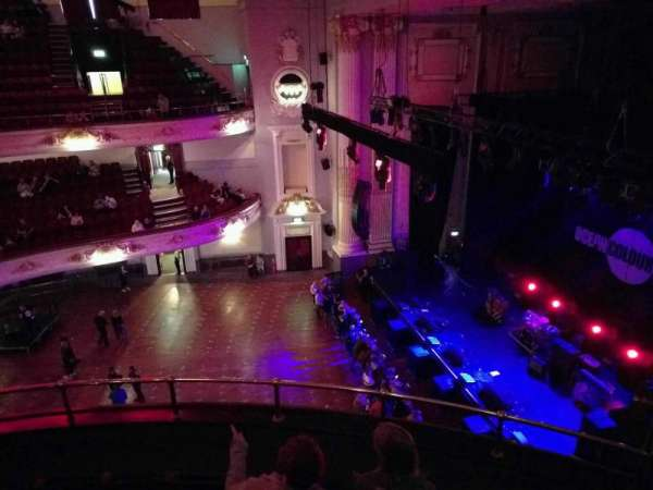 Usher Hall, section: upper circle, row: e, seat: 3