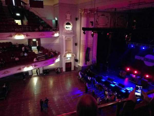 Usher Hall, section: upper circle, row: b, seat: 18