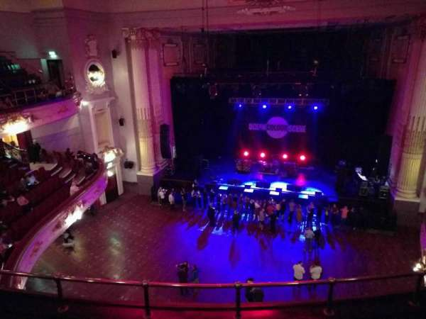 Usher Hall, section: upper circle, row: d, seat: 32