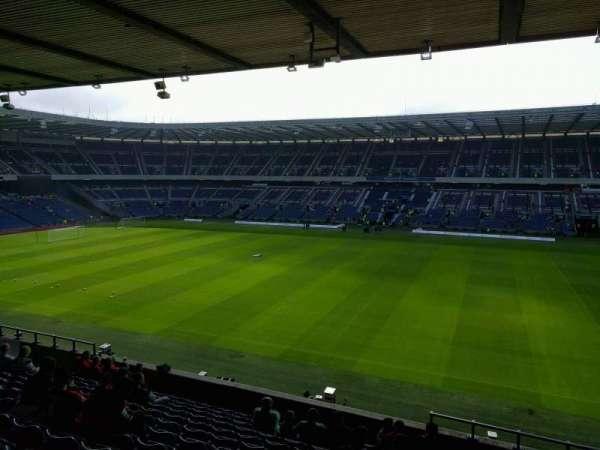 Murrayfield Stadium, section: E6, row: o, seat: 23