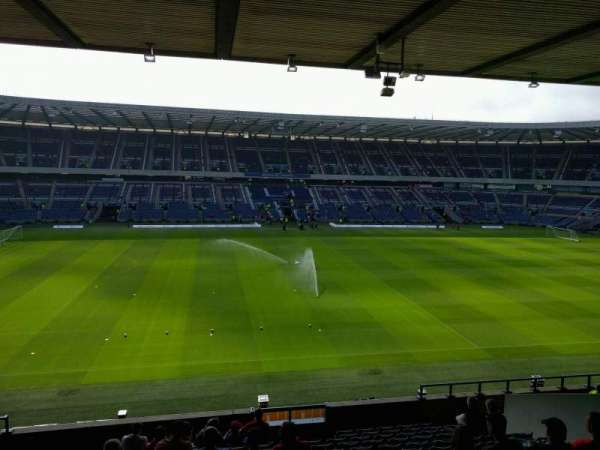 Murrayfield Stadium, section: E14, row: p, seat: 28