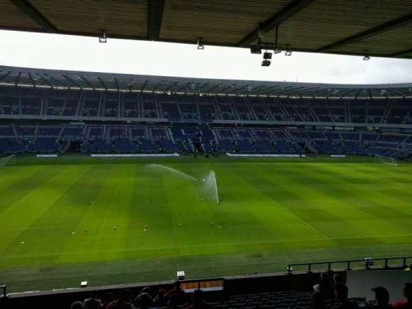 Murrayfield Stadium, section: E18, row: p, seat: 28