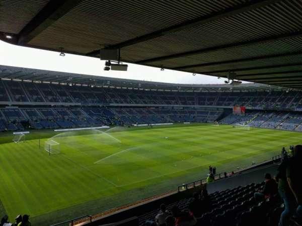 Murrayfield Stadium, section: E22, row: q, seat: 17