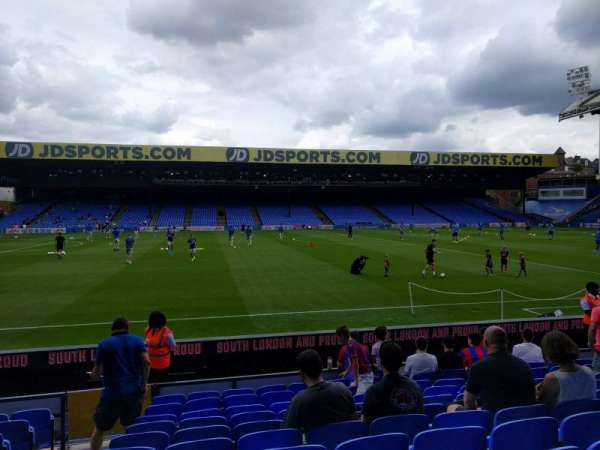 Selhurst Park, section: E, row: 11, seat: 89