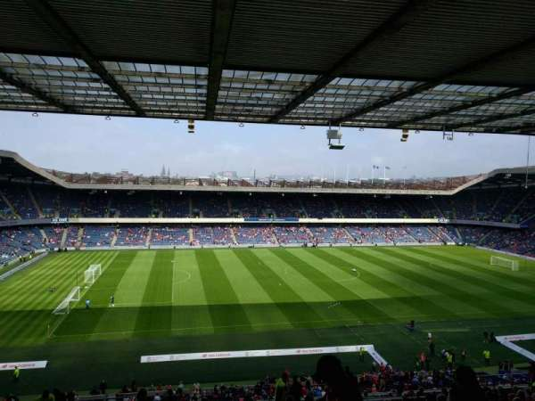 Murrayfield Stadium, section: W30, row: kk, seat: 14