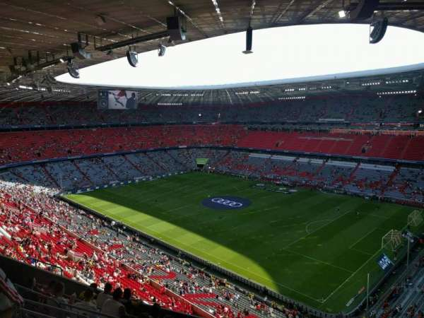 Allianz Arena, section: 333, row: 8, seat: 4