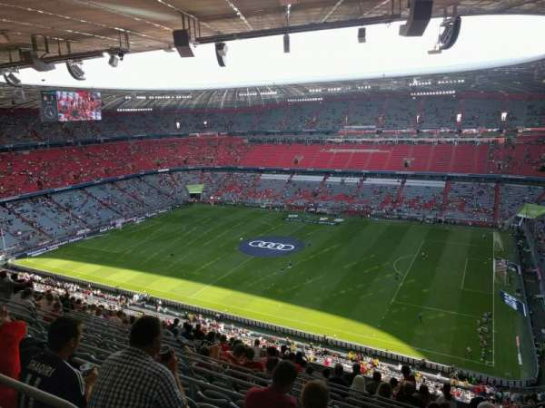 Allianz Arena, section: 331, row: 14, seat: 10