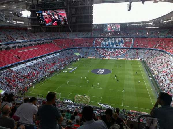 Allianz Arena, section: 317, row: 14, seat: 12