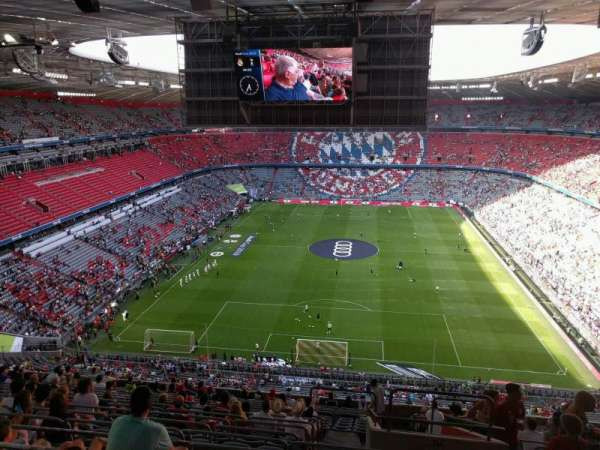 Allianz Arena, section: 316, row: 17, seat: 12