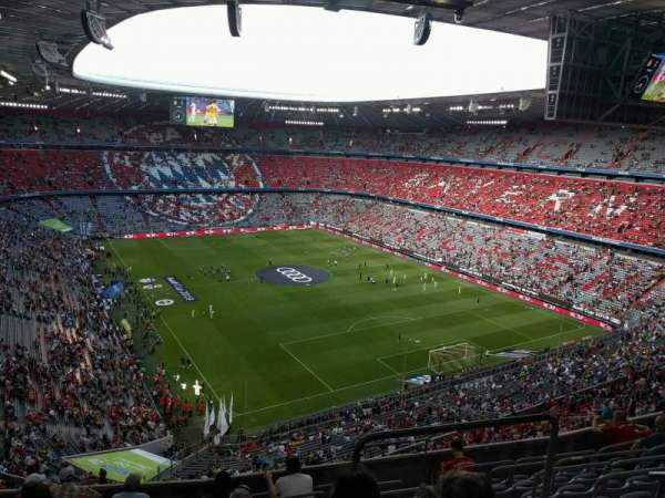Allianz Arena, section: 312, row: 9, seat: 8