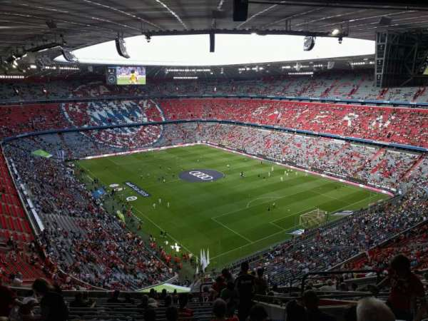 Allianz Arena, section: 322, row: 16, seat: 10