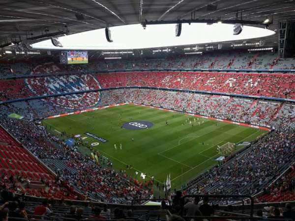 Allianz Arena, section: 310, row: 15, seat: 13