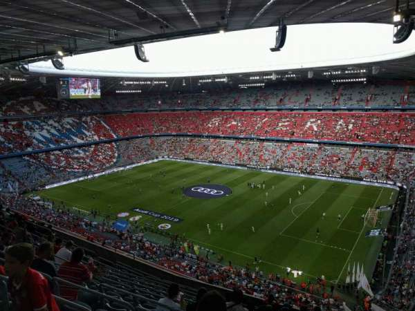 Allianz Arena, section: 308, row: 12, seat: 6