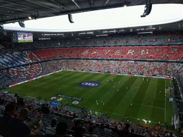 Allianz Arena, section: 307, row: 12, seat: 11