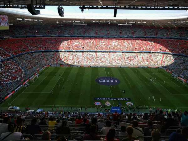 Allianz Arena, section: 303, row: 20, seat: 8