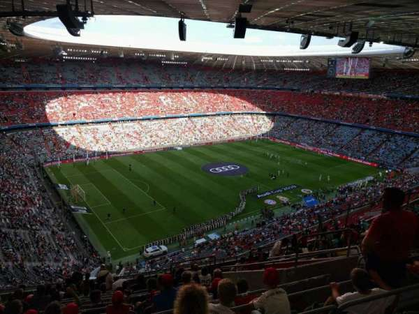 Allianz Arena, section: 347, row: 16, seat: 5