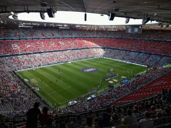 Allianz Arena, section: 346, row: 17, seat: 15