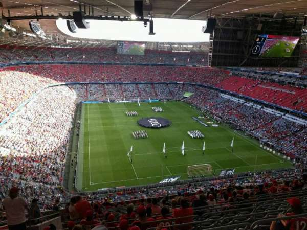 Allianz Arena, section: 337, row: 18, seat: 17