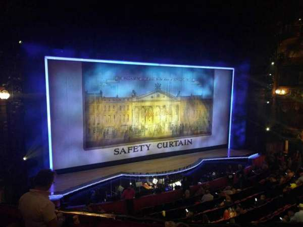 The London Palladium, section: Royal Circle, row: d, seat: 38