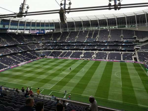 Tottenham Hotspur Stadium, section: 502, row: 17, seat: 100