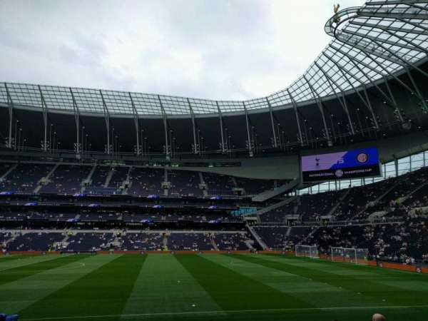 Tottenham Hotspur Stadium, section: 103, row: 16, seat: 67