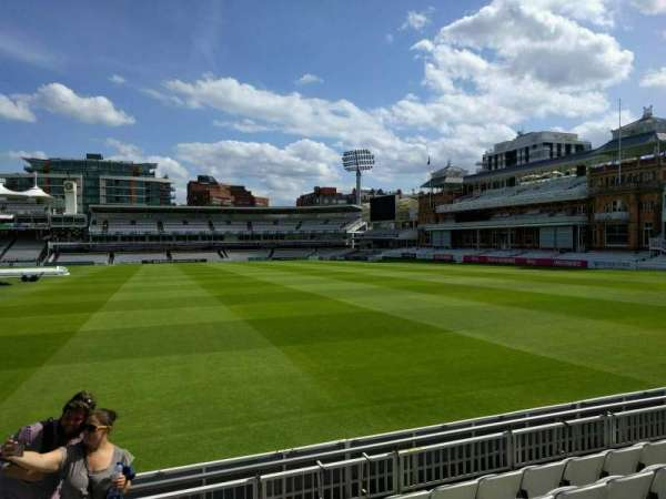 Lord's Cricket Ground, section: Grandstand A, row: 6, seat: 38