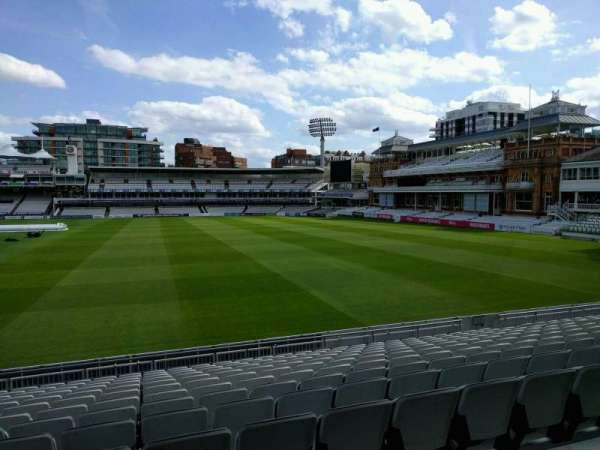 Lord's Cricket Ground, section: Grandstand A, row: 12, seat: 32