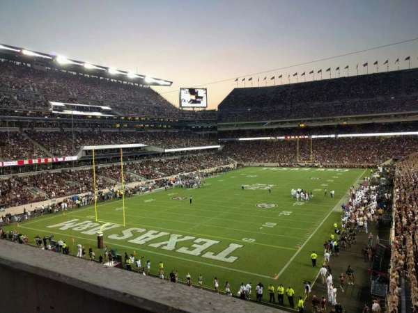 Kyle Field, section: 242, row: 1, seat: 28