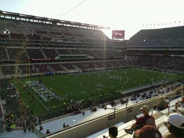 Kyle Field, section: 240, row: 8, seat: 15