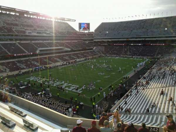 Kyle Field, section: 242, row: 10, seat: 6