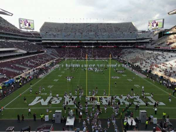 Kyle Field, section: 244, row: 3, seat: 14