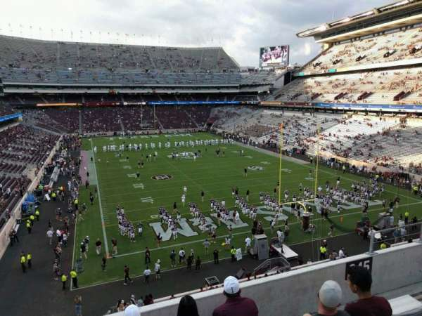 Kyle Field, section: 245, row: 5, seat: 10
