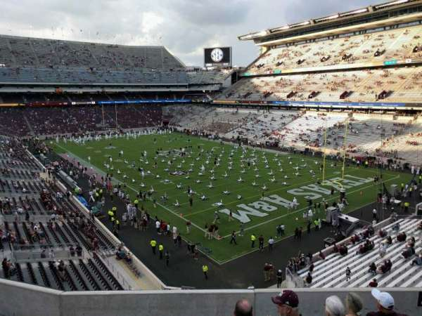 Kyle Field, section: 246, row: 7, seat: 14