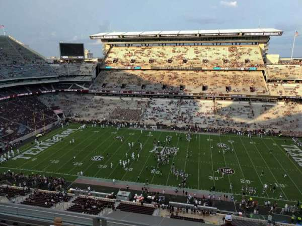 Kyle Field, section: 405, row: 3, seat: 4
