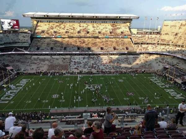 Kyle Field, section: 495, row: 9, seat: 12