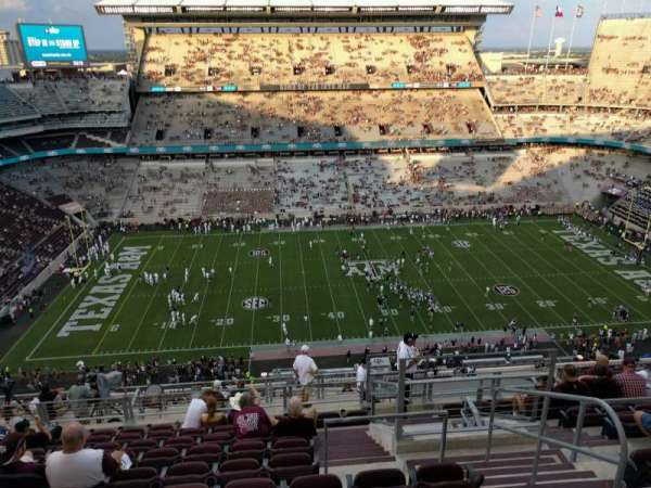 Kyle Field, section: 406, row: 10, seat: 4