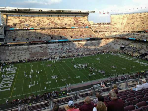 Kyle Field, section: 309, row: 8, seat: 14