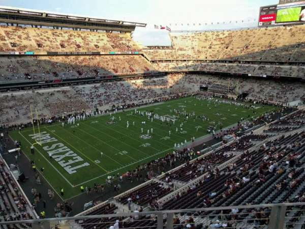 Kyle Field, section: 312, row: 3, seat: 12