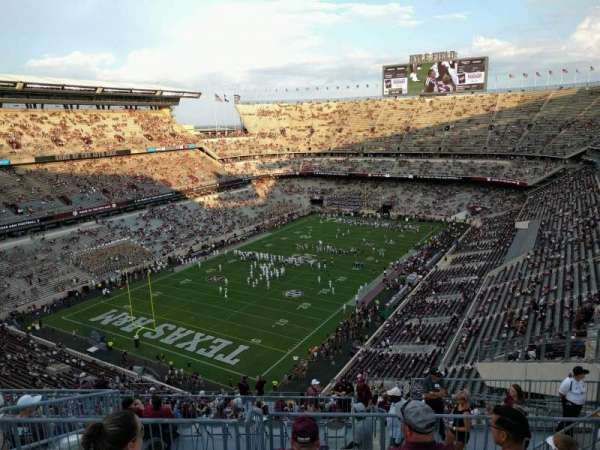 Kyle Field, section: 409, row: 9, seat: 9